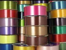 """Floristry Ribbon 2""""x100yds Reels Waterproof Polypropolene all colours"""