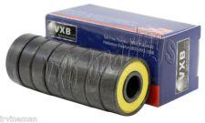 8 Longboard Sealed Bearing Black  Ball Bearings
