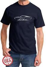 1968 1969 Ford Fairlane Fastback Classic Outline Design Tshirt NEW FREE SHIP
