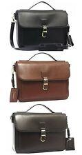 Womens Ladies Satchel Faux Leather Smart Office Shoulder Bag Bessie London