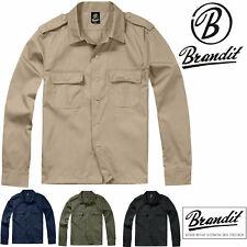 Brandit Herren US Hemd 1/1 4102 Urban Freizeithemd Army Patrouille