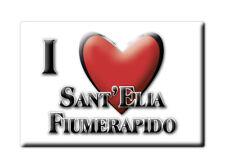 CALAMITA LAZIO FRIDGE MAGNET MAGNETE SOUVENIR LOVE SANT'ELIA FIUMERAPIDO (FR)