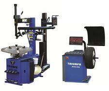 Tire Changer Wheel Changers Machine Rim Balancer Combo 950-1 550 Clamping