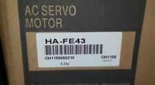 100% NEW Mitsubishi Servo Motor HA-FE43 HA-FE43G HA-FE43BG IN BOX HAFE43BG
