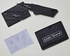 Credit Card Pocket Folding Survival Knife Self Defence Outdoor Hunting