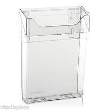 Prospekthalter / Prospektbox mit Deckel, Wetterfest in DIN Lang, DIN A5 und A4