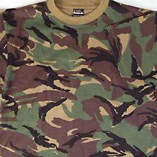 Kids Camo T-Shirt Printed Army DPM R611
