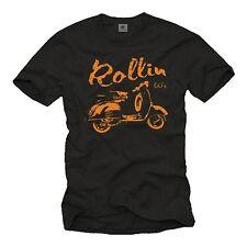 Roller Scooter Motorroller Vespa T-Shirt 50 125 80 KULT