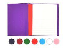 """Libro De Ejercicios cubierta 9x7 """"Prêt-à-porter envoltura Impermeable Reutilizable Escuela Notebook Kid"""