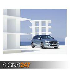 MERCEDES BENZ B CLASS (AC721) CAR POSTER - Photo Poster Print Art A0 A1 A2 A3 A4
