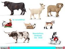Schleich® Bauernhoftiere - AUSWAHL, NEU mit Schleich® - Fahne