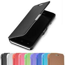 SLIM FLIP Huawei LG Case Handy Tasche Schutz Hülle Etui Smart Cover Klapp