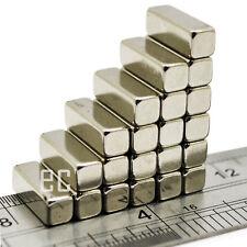 10mm x 4mm x 4mm Very Strong NI-CU-NI Nickel Coating Neodymium Block Bar Magnet