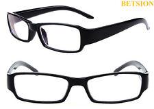 NEARSIGHTED Distance Black Eyeglass Frame Myopia Minus GLASSES -1.0 -6.0