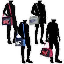 Nike Heritage Si Track Club Messenger Reisetasche Schultertasche pink grau blau lila