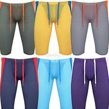 Men's Sports Compression Shorts Pants Under Base Layer Camo Running Yoga Tights