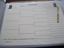 Doberman Pinscher Blank Pedigree Sheets Pack 10