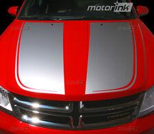 2008-2014 Dodge AVENGER Hood Blackout Decals Graphics Stripes Accent 09 10 11 12