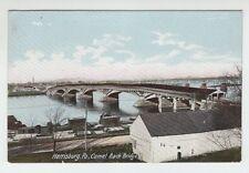 [32284] OLD POSTCARD CAMEL BACK BRIDGE, HARRISBURG, PA.