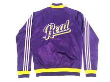 Adidas Originals Real Madrid College Jacket Jacke Violett Herren Größe 50