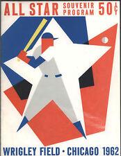 1962 Baseball All-Star Game Program, Chicago