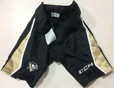 CCM PP90 Pro Stock Hockey Pants Shell Black Pittsburgh Penguins All Sizes 7325