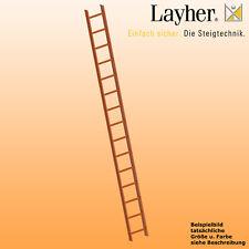 Layher Dachleiter m. Schutzprofil, Aluleiter in RAL Farben, L=4,20m, Typ 1051