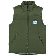 Adidas Originals señores entiende Vest chaleco trefoil chaqueta verde oliva otoño