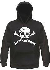 Skull Hoody - Hoodie - Skull Pirate Jolly Roger Skull
