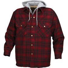 Men's Ironton Brawny Sherpa Lined Jacket with Hood Choose Size
