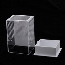 Acryl Terrarium Fütterungsbox Transportsbox für Reptilien Schildkröte