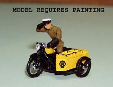 P&D Marsh OO Gauge PW34 1950's AA Motorcycle Patrol kit requires painting
