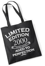 17th Cumpleaños Regalo Bolso de compras Limited Edition 2000 envejecido a la perfección Mam