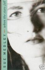 SUE MEDLEY - WHEN THE STARS FALL CASSETTE SINGLE