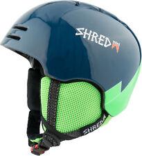 Shred Ski Helmet Snowboard Helmet Blau Slam-Cap Mini Slytech XT2 Ice