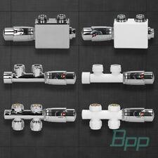Anschlussgarnitur Ventil Thermostat Für Badheizkörper Heizkörper Mittelanschluss