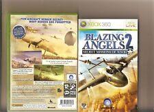 Blazing Angels 2 misiones de WW II Xbox 360 Raro