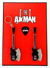 Gene Simmons (Kiss): Kramer Axe Bass - Keyring & Magnet Variation (UK Seller)