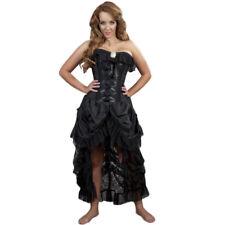 Burleska Gothic Victorian Steampunk Korsett Kleid - Elizabeth Schwarz Spitze