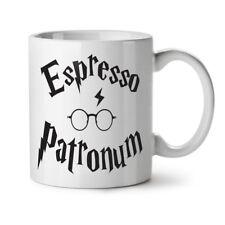 Espresso Patronum NEW White Tea Coffee Mug 11 oz | Wellcoda
