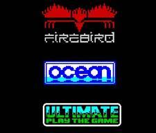 Ultimate, Oceano, Firebird anni'80 8-bit pixel dello spettro c64 computer Brand T-shirt