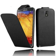 finta pelle custodia protettiva cellulare con patta per Samsung Galaxy Note 3