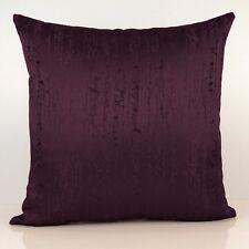 Purple (Plum) Decorative Throw Pillow Cover, Cushion Cover - Geometric Pattern