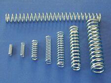 Druckfedern, Stahlfedern, Federn, Rückstellfedern, Federstahl nach Auswahl