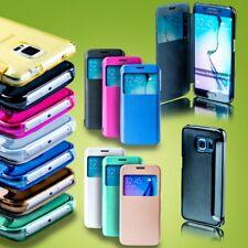 Smart Cover Window para muchos smartphone protección bolsa cover case funda accesorios