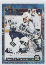 1993-94 Score Canadian #527 Brad McCrimmon Hartford Whalers Hockey Card
