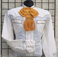 326da7a4ab Camisa charra mexicana tipo y mariachi occidental Greca bordada de México  Espuela De Oro