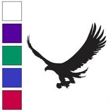 Hawk Eagle Falcon Decal Sticker Choose Color + Size #255
