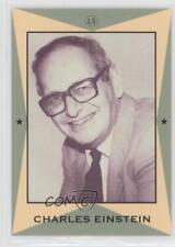 1990 Little Sun Major League Writers #11 Charles Einstein Rookie Baseball Card