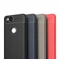 TPU-Case Hülle Leder-Optik #T52 zu Google Pixel 2/XL Silikon Tasche Cover Schutz